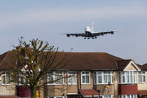 British Airways Airbus A380 And House von David Pyatt