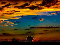 Sunset In Louisiana No.4 by Michael DeBlanc