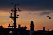 Büsumer Hafen von Michael Bürger