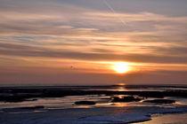Eisiger Sonnenuntergang von Michael Bürger