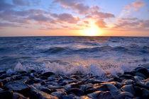 Nordsee im Sonnenlicht von Michael Bürger