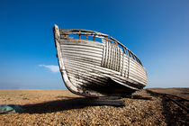 Beached Boat von David Hare