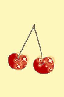Funkelndes Kirschenpaar by lela