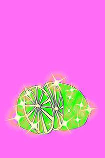 Funkelnde Limette von lela