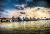 The Thames Barrier London von David Pyatt
