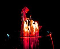 Praying Candle Angel von Michael DeBlanc
