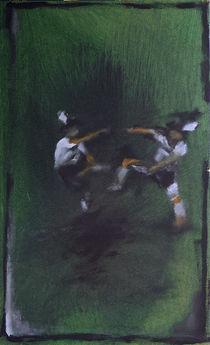 Schuhplattler, bayerischer Tanz von Thomas Neumann