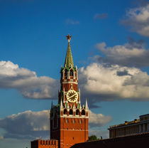 towers of the Moscow Kremlin by Andrey Lipinskiy