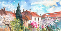 View from The Trefle Window in Albi von Miki de Goodaboom