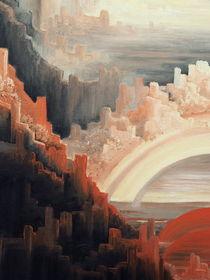 Hinterm Horizont gehts weiter .... Ölbild - Ausschnitt 4 von Edeltraut K.  Schlichting