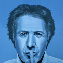 Dustin Hoffman Painting by Paul Meijering