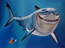 Finding Nemo Painting von Paul Meijering