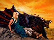 Game Of Thrones Painting by Paul Meijering