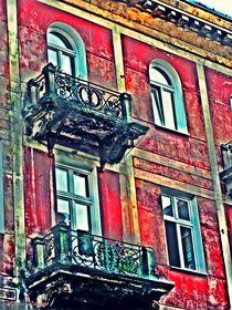 Red Old House von Sandra  Vollmann