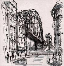 Tyne Bridge from Dean st. by terrydonnelly