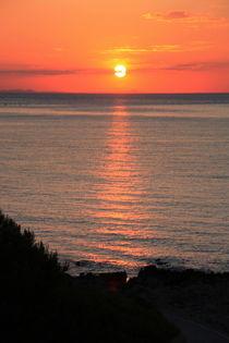 Sonnenaufgang am Meer ... Mallorca, Nr. 7 von Edeltraut K.  Schlichting