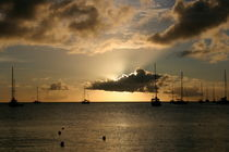 St Lucia Sunset by Milton Cogheil