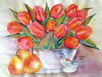 Stillleben mit Tulpen von Irina Usova