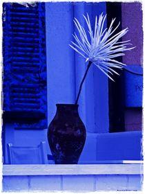 Dipped in Blue von Sandra  Vollmann