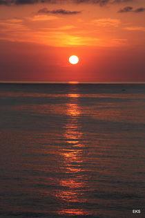 Sonnenuntergang von Edeltraut K.  Schlichting
