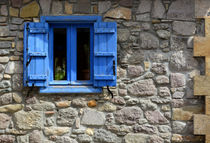 Blue Shutters by Philip Shone