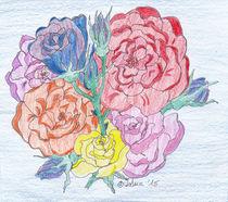 Gemalte-rosen