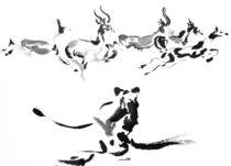 Die wilde Jagd by Eberhard Schmidt-Dranske