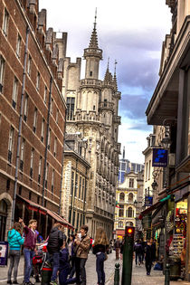 Around Grand Place Brussels von tastefuldesigns