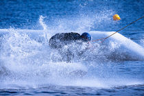 Splash blue von Marc Heiligenstein