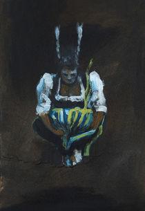 Dirndlbombe, Mädchen mit Tracht by Thomas Neumann