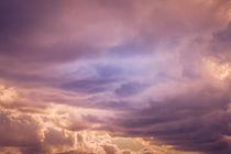 Sonnenuntergang - Wolken by Peter Eggermann