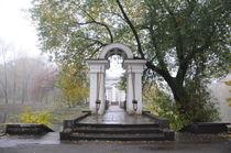 arch in the old Park by Natalia Akimova