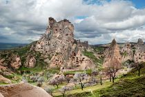 Residential area of Ancient Cappadocia. Central Turkey by Yuri Hope