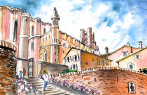 Cathedral Sainte Cecile In Albi 02 von Miki de Goodaboom