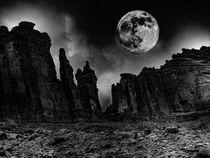 Bad Moon Rising von Michael DeBlanc