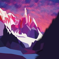 Night Mountains No. 12 von Henrik Bakmann