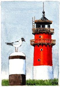 Nordseeleuchtturm Büsum von lura-art