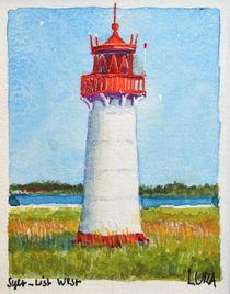 Nordsee Leuchtturm Sylt List, West by lura-art