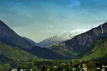 Mountains Beyond Skagway by Gena Weiser