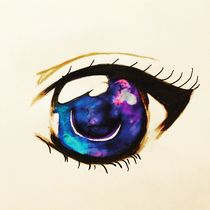 Galaxy Eye by Sophia Kaempf