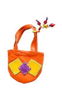 Toy handbag on white von kgm