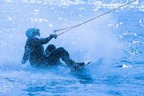 Wakeboarding in blue 7 von Marc Heiligenstein