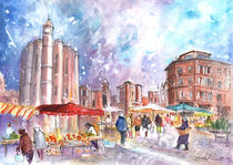Saturday Market In Albi 02 von Miki de Goodaboom
