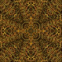 Molten Gold Cross by Richard H. Jones
