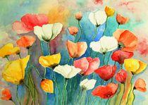 Bunter Mohn Mohnblumen Malerei von siegfried2838