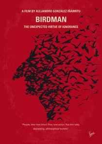 No604 My Birdman minimal movie poster by chungkong