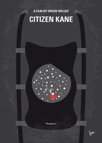 No605 My Citizen Kane minimal movie poster von chungkong