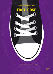No610 My Footloose minimal movie poster von chungkong