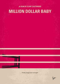 No613 My Million Dollar Baby minimal movie poster by chungkong
