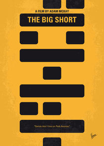 No622 My The Big Short minimal movie poster von chungkong